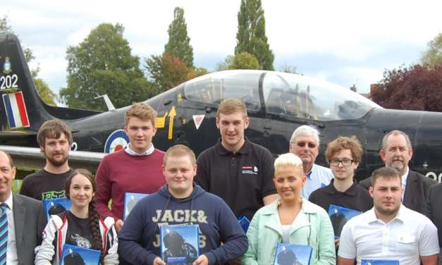 Babcock International Group aircraft apprentices ready for take off