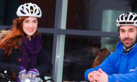 BUSINESS PARK ENCOURAGES COMMUTERS TO LOVE THEIR BIKE THIS VALENTINE'S DAY