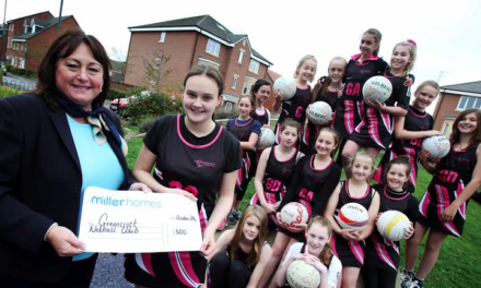 Four in a Row for Miller Homes' Summer of Sport Campaign
