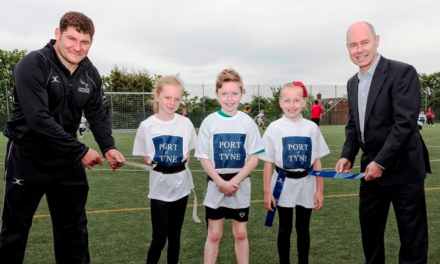 Tag Rugby Set to Fly Thanks to Port of Tyne