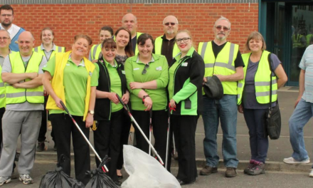Manor Walks Lends a Hand with First Community Day