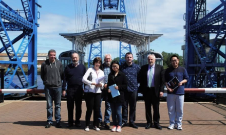 We're all Friends of the Tees Transporter Bridge