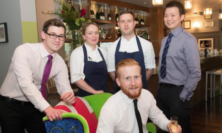 Another National Accolade for Café 21 Team