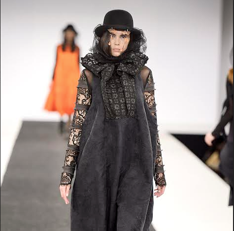 Northumbria Fashion Student from Northumberland Showcased Collections at Graduate Fashion Week