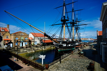 Hartlepool's HMS Trincomalee becomes Oldest Warship still afloat in the World