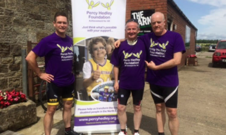 Team of Cyclists to Tackle 800-mile Challenge for the Percy Hedley Foundation