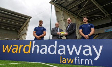 Newcastle Falcons to Partner with Law Firm Ward Hadaway