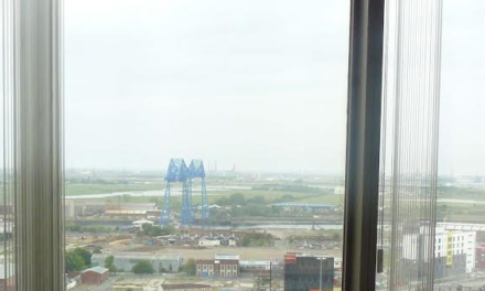 """Middlesbrough Office Space with """"Best Views"""" in Teesside comes to the Market"""