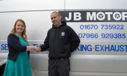 East Cramlington Garage Owner Drives up Support for new local Residential Development