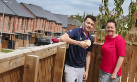 Miller Homes' Summer of Sport goes for Gold with Paralympic Hero