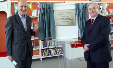 Arts Council Chair Opens New £2.7million Facility in Billingham