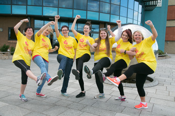 Darlington Business Society goes for Starlight Stroll to Raise Money for Hospice