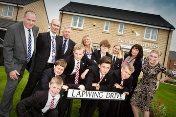 Local Students Name New Darlington Housing Development Streets