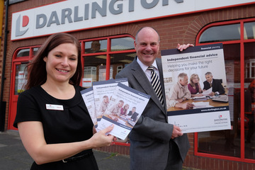 Independent Pensions Advice now Available from Cockerton Branch of Darlington Building Society