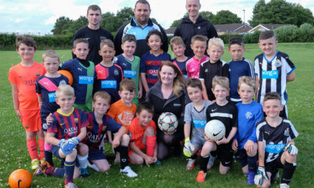 Hazlerigg Footballers Score with Banks Group