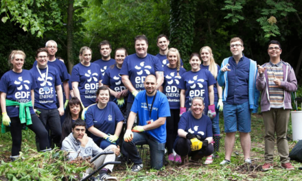 Helping Hands Complete Garden Makeover for Local Charity