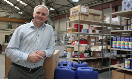 Relocation Pays off for Adhesives Company