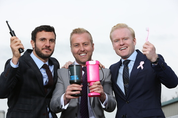 Think Pink: WhiteWash Laboratories donates hundreds of pink toothbrushes to Cancer Charity
