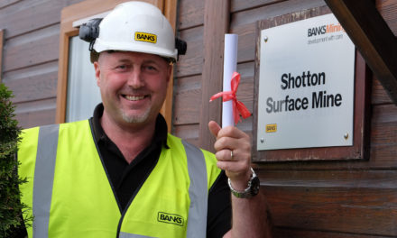 Neil Digs in to Earn High Level Diploma in Quarry Technology