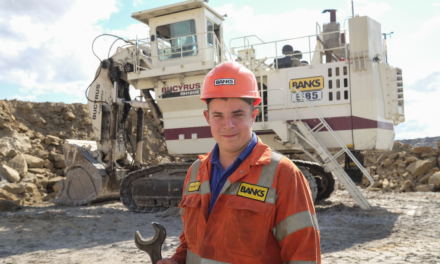 Apprentice Drew Picks up Student of the Year Award from Northumberland College