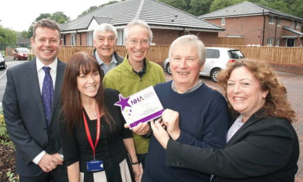Stocksfield Community-owned Homes Win National Housing Award