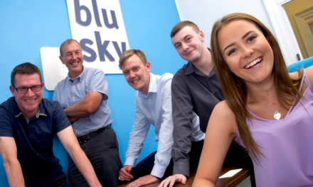 Turnover Boost at Expanding Firm Blu Sky