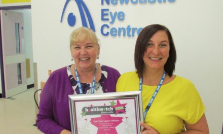 Healthwatch Awards those with Stars in their Eyes