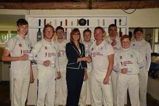 Sara Knocks Team for Six as Cup comes to Village Cricket Team