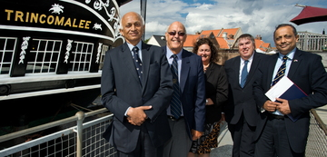 Indian High Commissioner Visits HMS Trincomalee