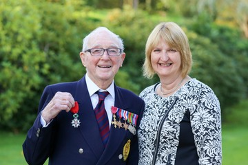 Military honour for North East engineer and Normandy veteran