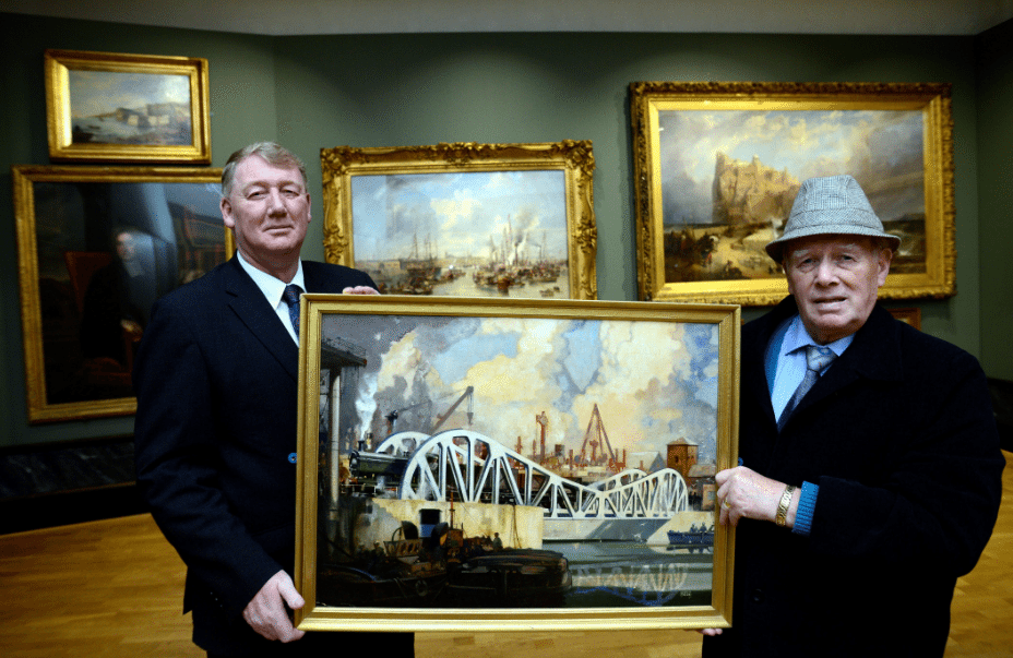 Painting of pioneering bridge to be donated to museum