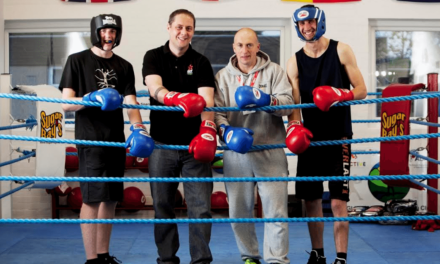 Boxing club opens doors thanks to generous donation