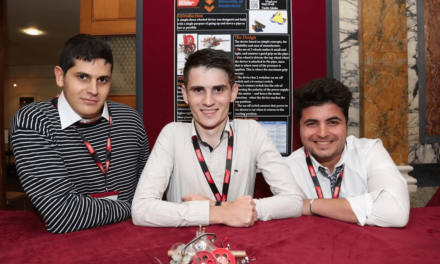 First year students engineer a national design prize