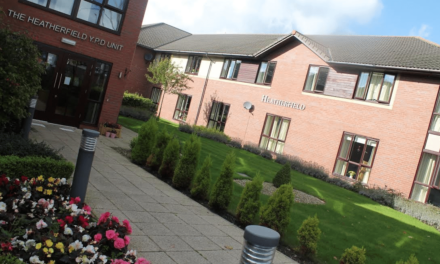 Care wins home top floral award