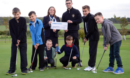 Bedlington Golf Club takes top regional prize in Miller Homes' Summer of Sport competition