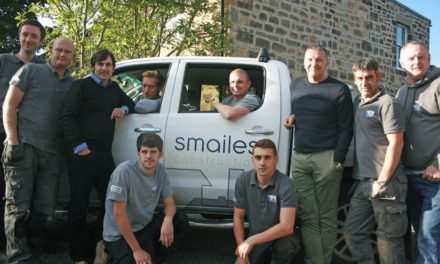 Smailes Construction celebrates third year in business