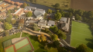 Yarm School shoots incredible aerial drone footage to celebrate completion of £30m development