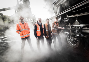 Trainees on the right track with rail apprenticeship