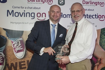 Award for Darlington Building Society stalwart