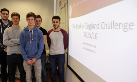 Young economists prepare for Bank of England contest