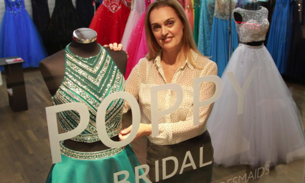 Poppy Bridal pops up at Cornmill this Christmas