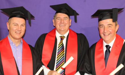 College's first higher level apprentices graduate