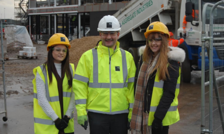 Hartlepool College students get some hands-on experience at new Fire Brigade HQ