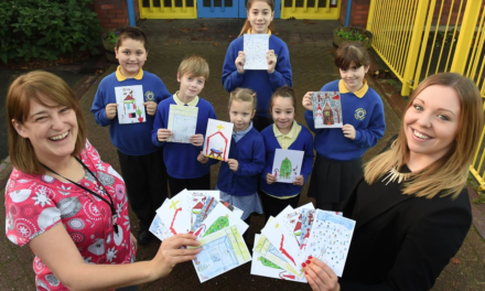 Festive Cards Designed by Kids