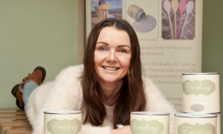 Shabby chic paint entrepreneur creates jobs and secures TV spot