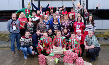 Frank's spreads Christmas cheer with Charity Donation