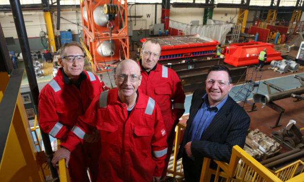 Francis Brown Ltd recruits three former SSI employees thanks to Task Force funding