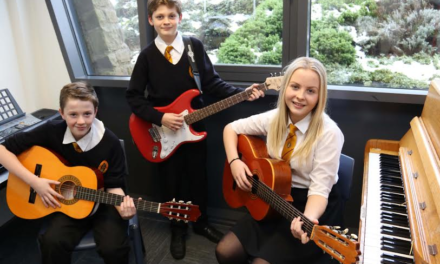 Students enjoy new music facilities