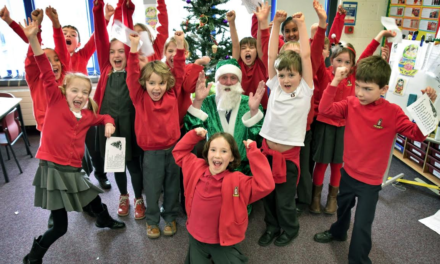 Bus company delivers pupils a Green Christmas