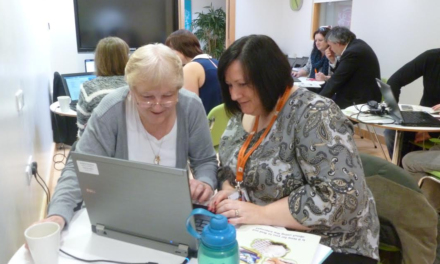 Residents helped to find work in an online world